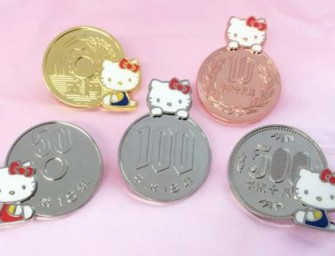 Collect all Hello Kitty Magnet Coins