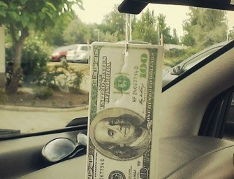 The $100 Bill Fresh Scent Air Freshener: Sweet scent of success