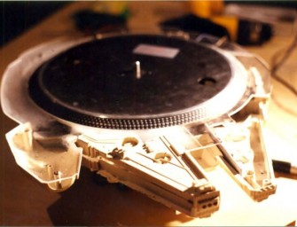 Millennium Falcon DJ turntable can make a Wookiee groove!