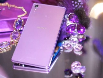 Purple Diamond Edition Sony Xperia Z3 blings out in Hong Kong