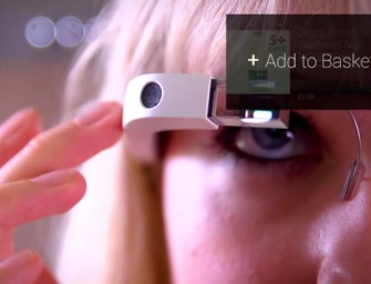 Tesco Google Glass Shopping App is Too Cool