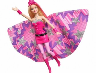 Barbie shows girl power in a new Superhero avatar!