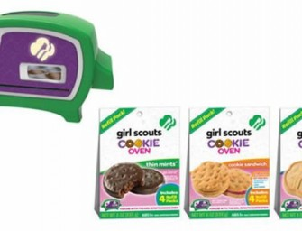 Whip up your favorite confectionaries, with the Girl Scout Cookie Oven