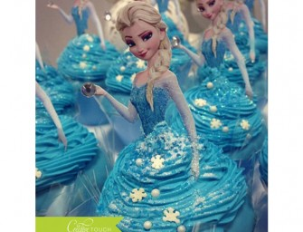 Frozen Cupcake Toppers: Elsa & Anna bring some magic to boring cupcakes