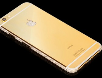 Bespoke Goldenie iPhones Cost as much as £2.3 million