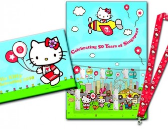 Singapore Turns 50! Celebrates with Hello Kitty Goodies