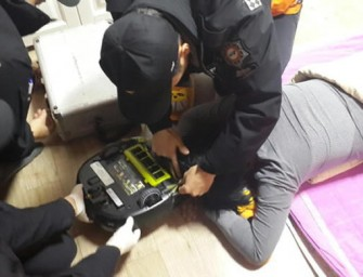 Korean Housewife gets Hair Sucked in Robot Vacuum Cleaner