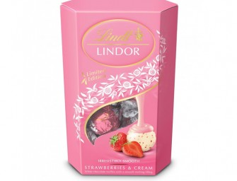 Limited Edition Lindor Strawberry and Cream Variety Out in April