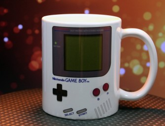 The Nintendo Gameboy Mug: Kick higher and faster with a caffeine kick