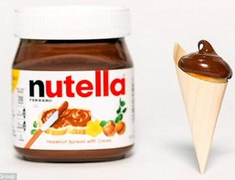 Cronus Inventor creates Nutella Pancake Cones to Honor Pancake Day