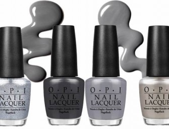 OPI launches limited edition Fifty Shades Of Grey Nail Lacquer Collection
