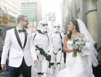 Star Wars Theme Wedding Is as Elegant As Geeky