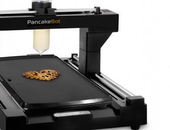 PancakeBot prints creative Pancakes
