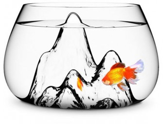 Simple and Elegant: Glasscape Fishbowl