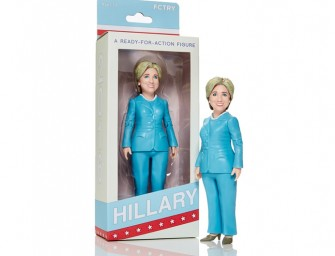 Hillary Clinton Action Figure might inspire independent women