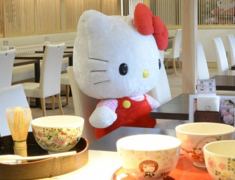 Bon Appetite Hello Kitty Lovers at The Tea House Hello Kitty Saryo