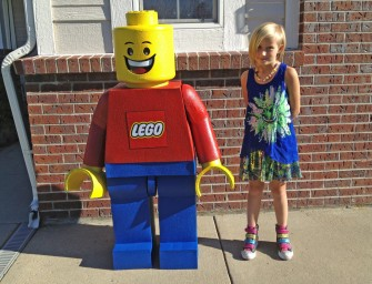 Get Home this Life-Size Lego Minifigure Replica