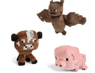 The huggable Minecraft Plush Animals are so much better than their pixilated parents