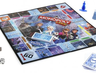 Let the Games Commence with Frozen Edition Monopoly Junior Game