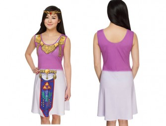 Ocarina of Time Fit and Flare Dress: Unleash your inner Zelda