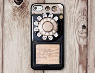 Vintage in Vogue with Old Phone iPhone 6 Case
