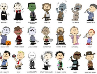 Run For Your Life, Charlie B: Peanuts characters dressed up as iconic villains