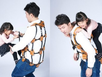For the Anti-Outdoor: Athletitti Rope Vest Turns Parents into Jungle Gym
