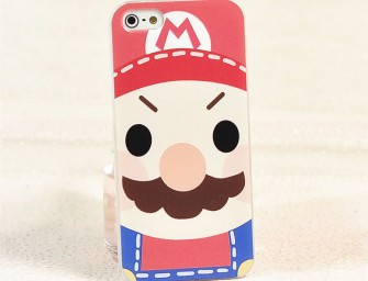 Cute: New Super Mario Baby Super thin 3D printing iPhone 6/6 Plus case