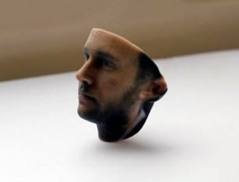 3D Printed Selfie: A new app in the works to let you create little models of your head