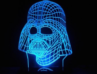 Darth Vader LED Light Table Lamp: Luke, I am your light