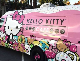 Hello Kitty Cafe, Roving Cafe creates a Stir In US