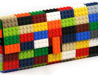The agabag Original Brick Bags: Beautiful clutches made entirely out of Lego blocks