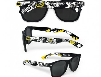 Style and Swag: Batman and Doctor Who Sunglasses
