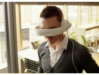 Mask is a Headphone that is Also Your Own Personal Theatre