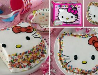 Yummylicious: Hello Kitty Ice-cream Cake