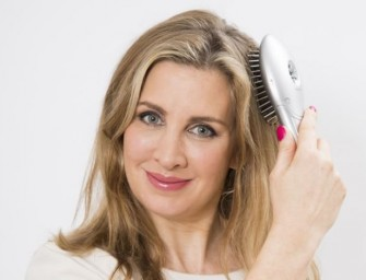 Can an ionic hairbrush fight the frizz?