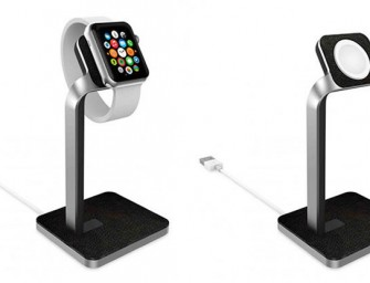 There's a charging dock for your Apple Watch too!