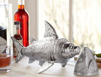 Mix up some deadly cocktails with the Shark Cocktail Shaker