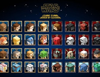 Artist reimagines Star Wars characters with cute Cube Heads