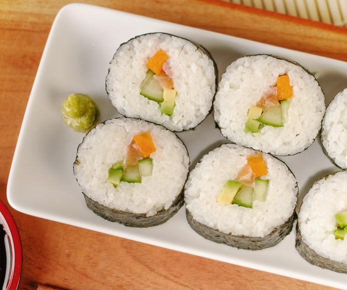 The Sushi Bazooka let's you create perfect roles effortlessly!