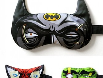 Superhero Sleeping Mask will awaken the hero within you!