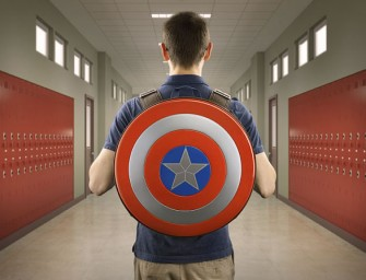 Captain America Shield Backpack will make you feel like a Superhero!