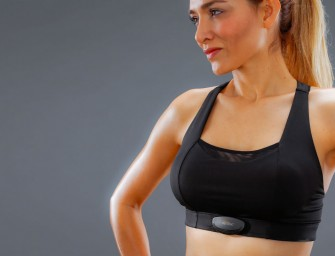 The Sensilk Fight Tech bra monitors your health and fitness and tells you how to improve your life