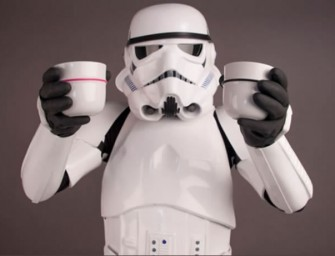 Cups for the Empire: The Stormtrooper helmet inspired espresso cups of your dreams