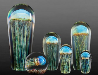 Rick Satava's Jellyfish Sculptures look Stunning
