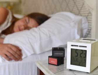 SensorWake Alarm Clock Wakes you to Your Favourite Smells