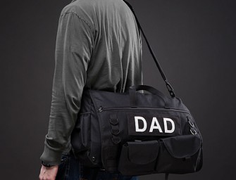 Tactical Diaper Bag, the Robocop of Baby Care