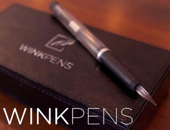 WINKpen: Wine, juice and tea as ink makes for an environmentally sustainable pen