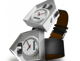 Worlds First Wearable Cuckoo Clock For Your Wrist