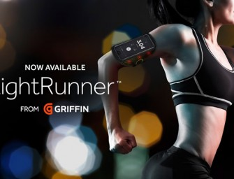 Griffin launches LightRunner: A LED Illuminated Armband